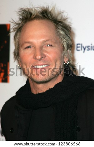 "LOS ANGELES - DECEMBER 02: Matt Sorum at the ""Art of Elysium Annual Art Benefit"" at Minotti on December 02, 2006 in Los Angeles, CA"
