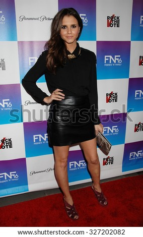 LOS ANGELES - FEB 8 - Alexandra Chando arrives at the 16th Annual Friends N Family Pre Grammy Party on February 8, 2013 in Los Angeles, CA              - stock photo