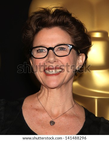 LOS ANGELES - FEB 7:  ANNETTE BENING arrives to the 83rd Academy Awards Nominees Luncheon  on Feb 7, 2011 in Beverly Hills, CA - stock photo