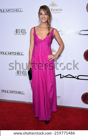 LOS ANGELES - FEB 14:  Beau Garrett arrives to the Make-Up Artists & Hair Stylists Guild Awards 2015  on February 14, 2015 in Hollywood, CA                 - stock photo