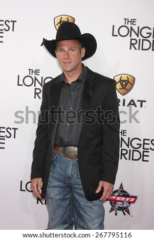 "LOS ANGELES - FEB 6:  Billy Robinson at the ""The Longest Ride"" Los Angeles Premiere at the TCL Chinese Theater on FEB 6, 2015 in Los Angeles, CA - stock photo"