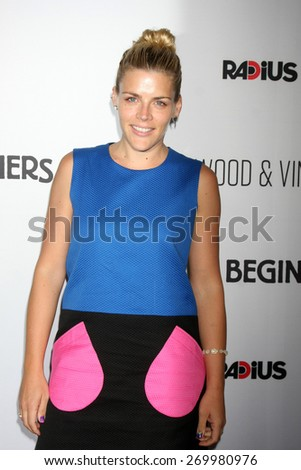 """LOS ANGELES - FEB 15:  Busy Philipps at the """"Adult Beginners"""" Los Angeles Premiere at the ArcLight Hollywood Theaters on April 15, 2015 in Los Angeles, CA - stock photo"""