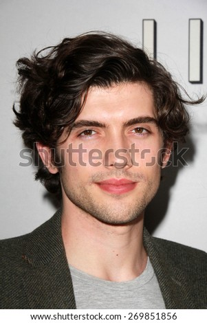 "LOS ANGELES - FEB 14:  Carter Jenkins at the ""Little Boy"" Los Angeles Premiere at the Regal 14 Theaters on April 14, 2015 in Los Angeles, CA - stock photo"