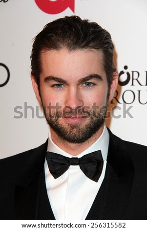 LOS ANGELES - FEB 22: chace crawford at the Elton John Oscar Party 2015 at the City Of West Hollywood Park on February 22, 2015 in West Hollywood, CA - stock photo