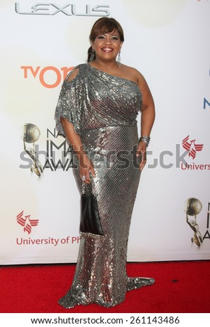 LOS ANGELES - FEB 6:  Chandra Wilson at the 46th NAACP Image Awards Arrivals at a Pasadena Convention Center on February 6, 2015 in Pasadena, CA - stock photo