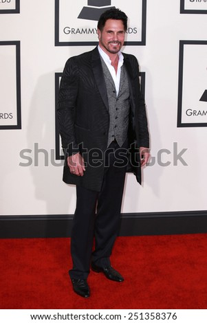 LOS ANGELES - FEB 8:  Don Diamont at the 57th Annual GRAMMY Awards Arrivals at a Staples Center on February 8, 2015 in Los Angeles, CA - stock photo