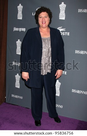 LOS ANGELES - FEB 21:  Dot Marie Jones arrives at the 14th Annual Costume Designers Guild Awards at the Beverly Hilton Hotel on February 21, 2012 in Beverly Hills, CA. - stock photo