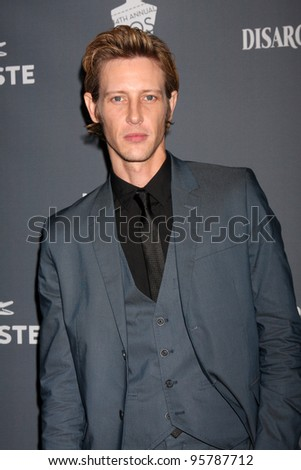 LOS ANGELES - FEB 21:  Gabriel Mann arrives at the 14th Annual Costume Designers Guild Awards at the Beverly Hilton Hotel on February 21, 2012 in Beverly Hills, CA.