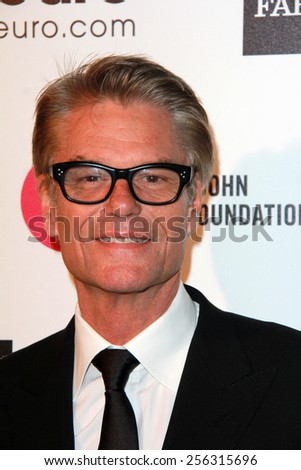 LOS ANGELES - FEB 22: Harry Hamlin at the Elton John Oscar Party 2015 at the City Of West Hollywood Park on February 22, 2015 in West Hollywood, CA - stock photo