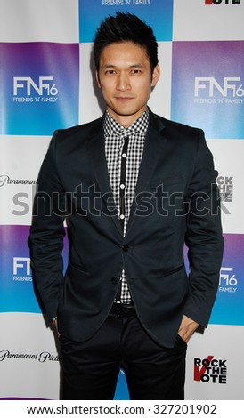 LOS ANGELES - FEB 8 - Harry Shum Jr. arrives at the 16th Annual Friends N Family Pre Grammy Party on February 8, 2013 in Los Angeles, CA              - stock photo