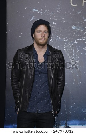 LOS ANGELES - FEB 2: Jake McDorman at the 'Jupiter Ascending' Los Angeles Premiere at TCL Chinese Theater on February 2, 2015 in Hollywood, Los Angeles, California - stock photo