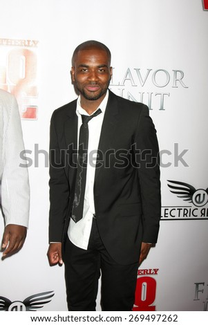 "LOS ANGELES - FEB 13:  Jamal Hill at the ""Brotherly Love"" LA Premiere at the Silver Screen Theater at the Pacific Design Center on April 13, 2015 in West Hollywood, CA - stock photo"