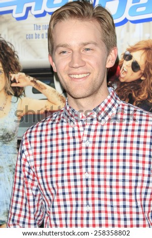 LOS ANGELES - FEB 10: Jason Dolley at the screening of the Disney Channel Original Movie 'Bad Hair Day' at the Frank G Wells Theater on February 10, 2015 in Burbank, CA - stock photo