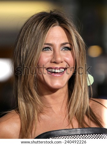 "LOS ANGELES - FEB 16:  JENNIFER ANISTON arrives to the ""'Wanderlust' World Premiere  on February 16, 2012 in Westwood, CA                 - stock photo"