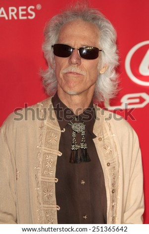 LOS ANGELES - FEB 6:  John Densmore at the MusiCares 2015 Person Of The Year Gala at a Los Angeles Convention Center on February 6, 2015 in Los Angeles, CA - stock photo