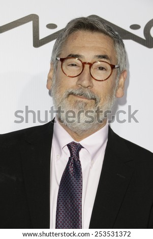 LOS ANGELES - FEB 14: John Landis at the Make-Up Artists & Hair Stylists Guild Awards at the Paramount Theater on February 14, 2015 in Los Angeles, CA - stock photo