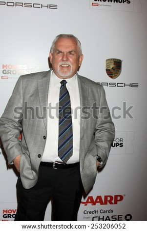LOS ANGELES - FEB 2:  John Ratzenberger at the AARP 14th Annual Movies For Grownups Awards Gala at a Beverly Wilshire Hotel on February 2, 2015 in Beverly Hills, CA - stock photo