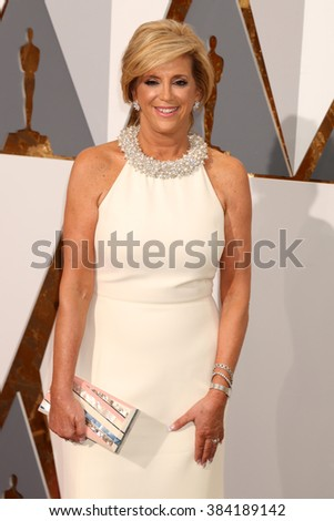 LOS ANGELES - FEB 28:  Joy Mangano at the 88th Annual Academy Awards - Arrivals at the Dolby Theater on February 28, 2016 in Los Angeles, CA