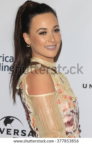 LOS ANGELES - FEB 15:  Kacey Musgraves at the Universal Music Group's 2016 Grammy After Party at the Ace Hotel on February 15, 2016 in Los Angeles, CA - stock photo