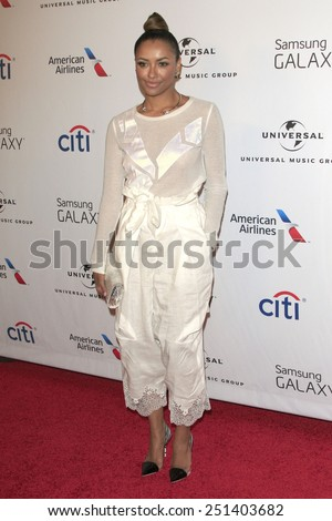 LOS ANGELES - FEB 8:  Kat Graham at the Universal Music Group 2015 Grammy After Party at a The Theater at Ace Hotel on February 8, 2015 in Los Angeles, CA - stock photo