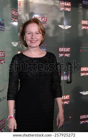 LOS ANGELES - FEB 20:  Kate Burton at the GREAT British Film Reception Honoring The British Nominees Of The 87th Annual Academy Awards at a London Hotel on February 20, 2015 in West Hollywood, CA - stock photo