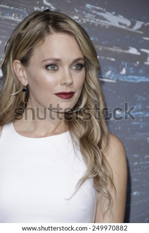LOS ANGELES - FEB 2: Katia Winter at the 'Jupiter Ascending' Los Angeles Premiere at TCL Chinese Theater on February 2, 2015 in Hollywood, Los Angeles, California - stock photo