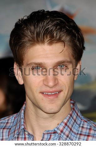 LOS ANGELES - FEB 13 - Keegan Allen arrives at the Oz The Great and Powerful World Premiere on February 13, 2013 in Los Angeles, CA              - stock photo