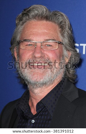 LOS ANGELES - FEB 23:  Kurt Russell at the 18th Costume Designers Guild Awards at the Beverly Hilton Hotel on February 23, 2016 in Beverly Hills, CA - stock photo
