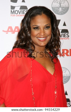 LOS ANGELES - FEB 6:  Laila Ali arrives at the AARP's 11th Annual Movies For Gownups Awards at Beverly Wilshire Hotel on February 6, 2012 in Beverly Hills, CA
