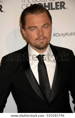 LOS ANGELES - FEB 8:  Leonardo DiCaprio arrives at the 18th Annual ADG Awards  on February 8, 2014 in Beverly Hills, CA