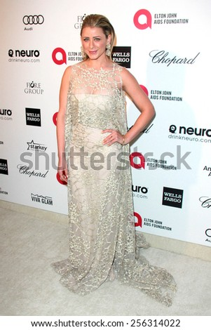 LOS ANGELES - FEB 22:  Lo Bosworth at the Elton John Oscar Party 2015 at the City Of West Hollywood Park on February 22, 2015 in West Hollywood, CA - stock photo