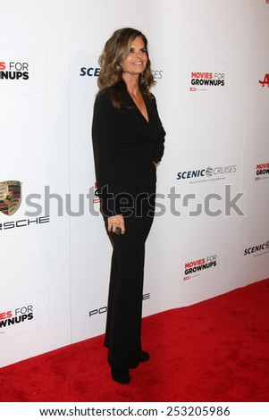 LOS ANGELES - FEB 2:  Maria Shriver at the AARP 14th Annual Movies For Grownups Awards Gala at a Beverly Wilshire Hotel on February 2, 2015 in Beverly Hills, CA - stock photo
