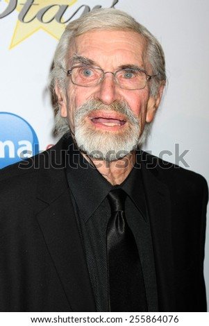 LOS ANGELES - FEB 22:  Martin Landau at the Night of 100 Stars Oscar Viewing Party at the Beverly Hilton Hotel on February 22, 2015 in Beverly Hills, CA - stock photo