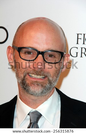 LOS ANGELES - FEB 22:  Moby at the Elton John Oscar Party 2015 at the City Of West Hollywood Park on February 22, 2015 in West Hollywood, CA - stock photo