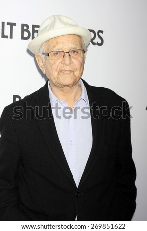 """LOS ANGELES - FEB 15:  Norman Lear at the """"Adult Beginners"""" Los Angeles Premiere at the ArcLight Hollywood Theaters on April 15, 2015 in Los Angeles, CA - stock photo"""