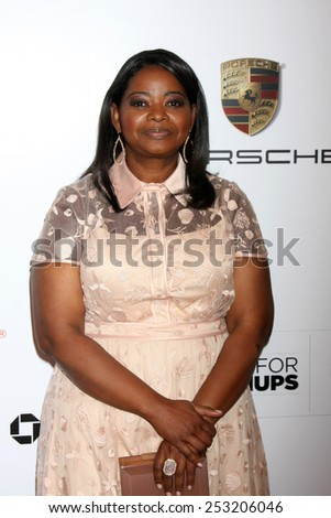 LOS ANGELES - FEB 2:  Octavia Spencer at the AARP 14th Annual Movies For Grownups Awards Gala at a Beverly Wilshire Hotel on February 2, 2015 in Beverly Hills, CA - stock photo