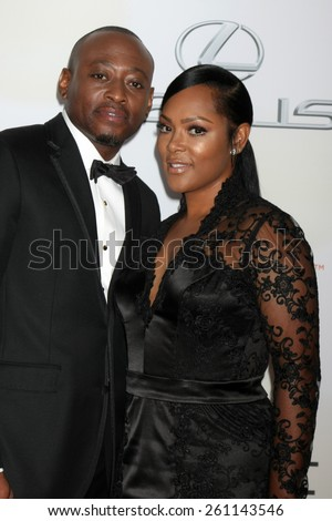 LOS ANGELES - FEB 6:  Omar Epps at the 46th NAACP Image Awards Arrivals at a Pasadena Convention Center on February 6, 2015 in Pasadena, CA - stock photo