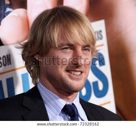 "LOS ANGELES - FEB 23:  Owen Wilson arrives to the ""Hall Pass"" World Premiere  on February 23, 2011 in Hollywood, CA"