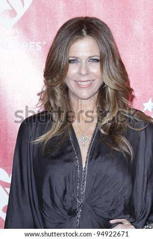 LOS ANGELES - FEB 10:  Rita WIlson arrives at the 2012 MusiCares Gala honoring Paul McCartney at LA Convention Center on February 10, 2012 in Los Angeles, CA - stock photo