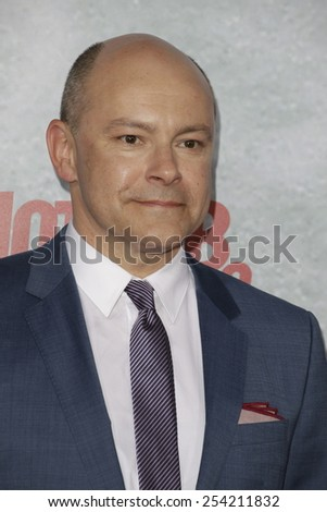 LOS ANGELES - FEB 18: Rob Corddry at the 'Hot Tub Time Machine 2' premiere on February 18, 2014 in Los Angeles, California - stock photo