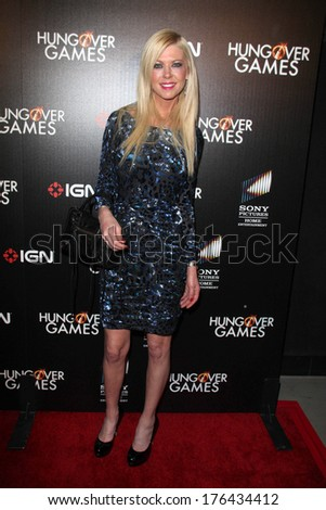 "LOS ANGELES - FEB 11:  Tara Reid at the ""The Hungover Games"" Premiere at TCL Chinese 6 Theater on February 11, 2014 in Los Angeles, CA"