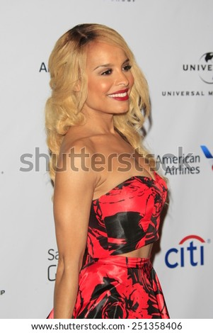 LOS ANGELES - FEB 8:  Veronique Smith at the Universal Music Group 2015 Grammy After Party at a The Theater at Ace Hotel on February 8, 2015 in Los Angeles, CA - stock photo