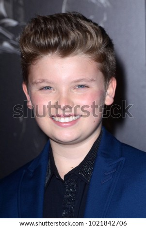 "LOS ANGELES - FEB 5:  William Jennings at the ""The 15:17 To Paris"" World Premiere at the Warner Brothers Studio on February 5, 2018 in Burbank, CA"
