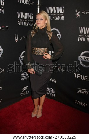 """LOS ANGELES - FEB 16:  Witney Carson at the """"WINNING: The Racing Life of Paul Newman"""" Pre-Premiere Reception at the Roosevelt Hotel on April 16, 2015 in Los Angeles, CA - stock photo"""