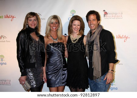 LOS ANGELES - JAN 12:  Arianne Zucker, fans, Shawn Christian.. arrives at  the Los Angeles Derby Prelude Party at The London Hollywood Hotel on January 12, 2012 in West Hollywood, CA