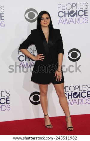 LOS ANGELES - JAN 7: Ariel Winter at the 2015 People's Choice Awards at Nokia Theater L.A. Live on January 7, 2015 in Los Angeles, California - stock photo