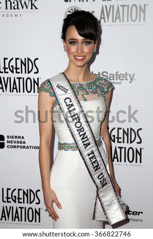 LOS ANGELES - JAN 22:  Athena Crosby at the 13th Annual Living Legends Of Aviation Awards at the Beverly Hilton Hotel on January 22, 2016 in Beverly Hills, CA
