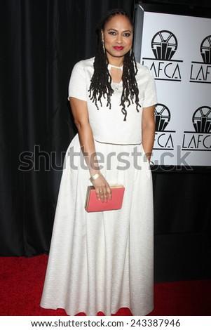 LOS ANGELES - JAN 10:  Ava DuVernay at the 40th Annual Los Angeles Film Critics Association Awards at a Intercontinental Century City on January 10, 2015 in Century City, CA - stock photo