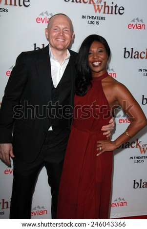 "LOS ANGELES - JAN 20:  Bill Burr at the ""Black Or White"" Los Angeles Premiere at a Regal Cinemas on January 20, 2015 in Los Angeles, CA - stock photo"