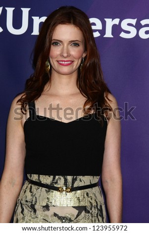 LOS ANGELES - JAN 6:  Bitsie Tulloch attends the NBCUniversal 2013 TCA Winter Press Tour at Langham Huntington Hotel on January 6, 2013 in Pasadena, CA